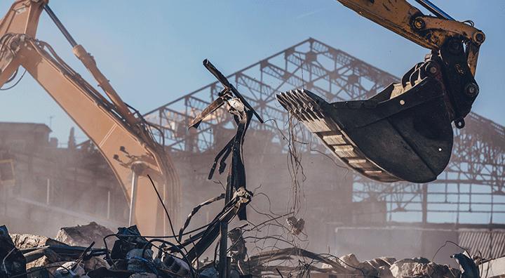 fabrika yıkımı